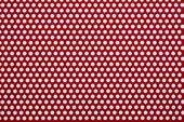 カラー樹脂 レッド(PVC) 3t×D5×P8 60°チドリ 開孔率35.4%