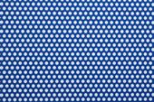 カラー樹脂 スカイブルー(PVC) 2t×D5×P8 60°チドリ 開孔率35.4%