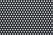 カラー樹脂 ブラック(PVC) 2t×D8×P12 60°チドリ 開孔率40.3%
