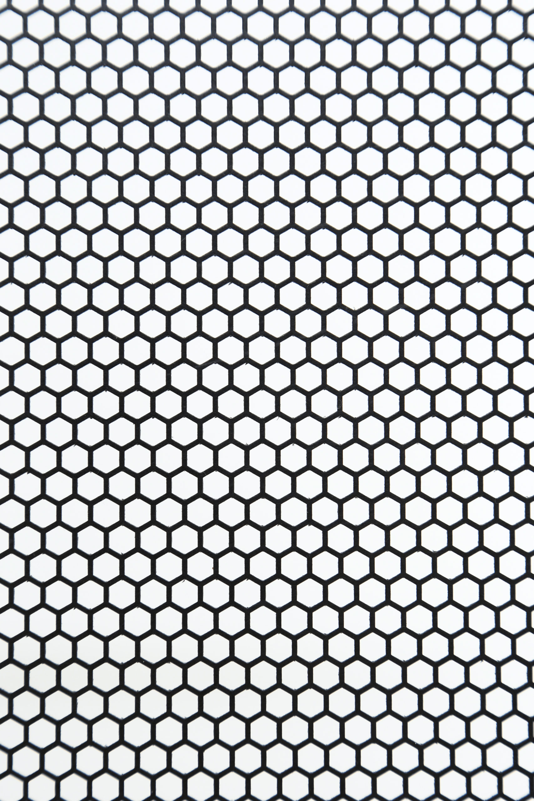 CFRTP t1.0 六角形 W5×P6 60°チドリ 開口率:69.4%