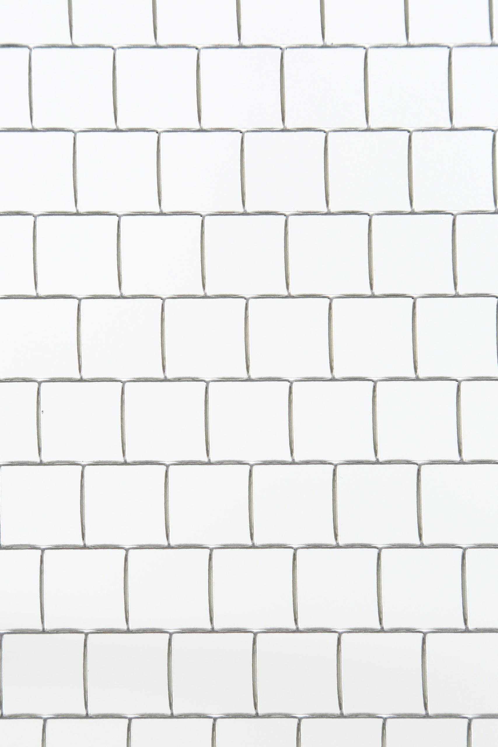 SUS 304-2B t1.5 角孔 □15×P15.75 チドリ 開口率:90.7%
