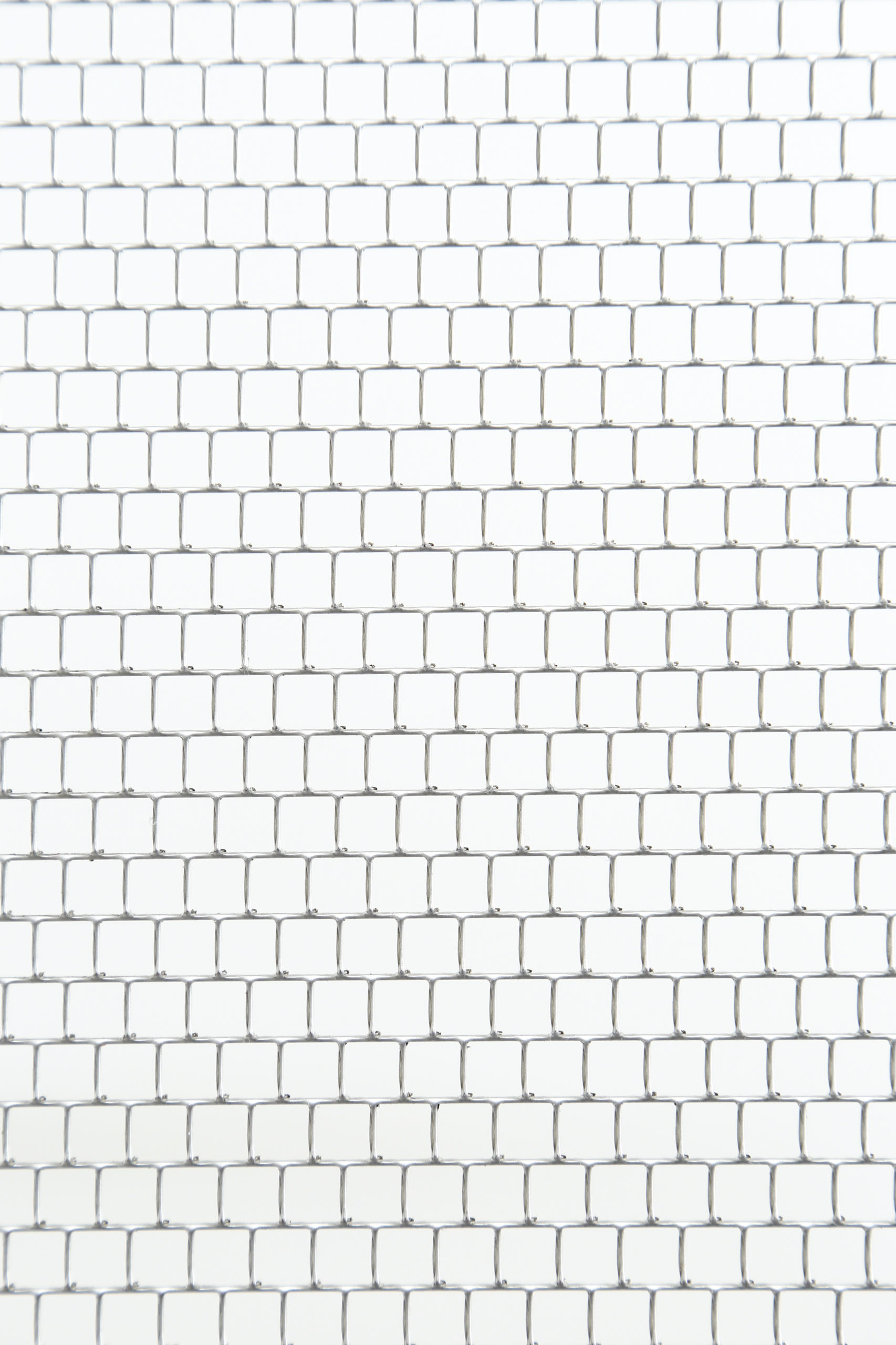 SUS 304-2B t1.5 角孔 □6×P6.7 チドリ 開口率:80.2%